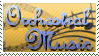 Orchestral Music Stamp