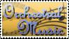 Orchestral Music Stamp by shadowyoshigamernerd
