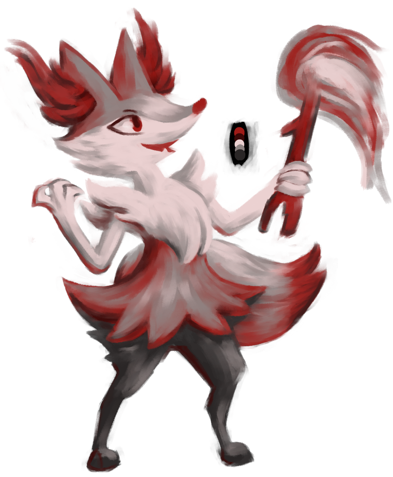 silver fox by shadowyoshigamernerd