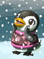 Aurora Loves the winter! by EralynArt