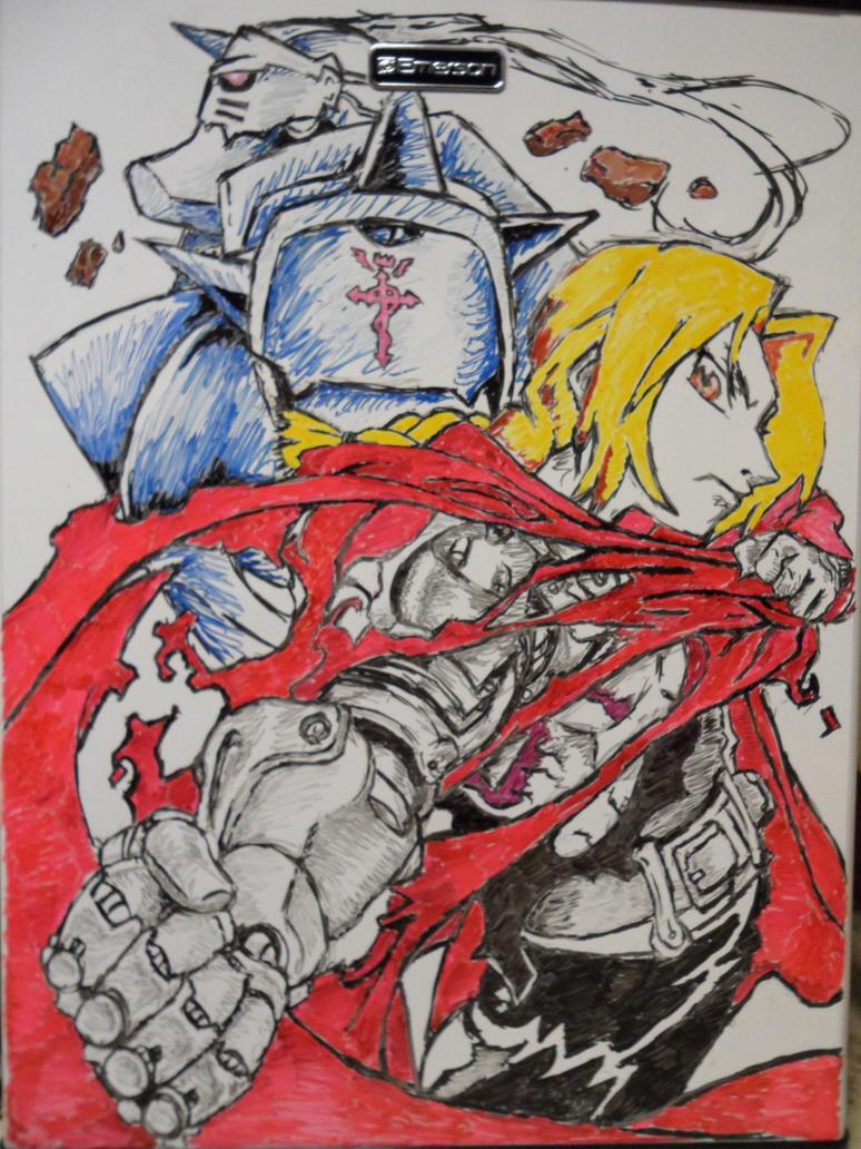Fullmetal Alchemist by bluelink91 on DeviantArt