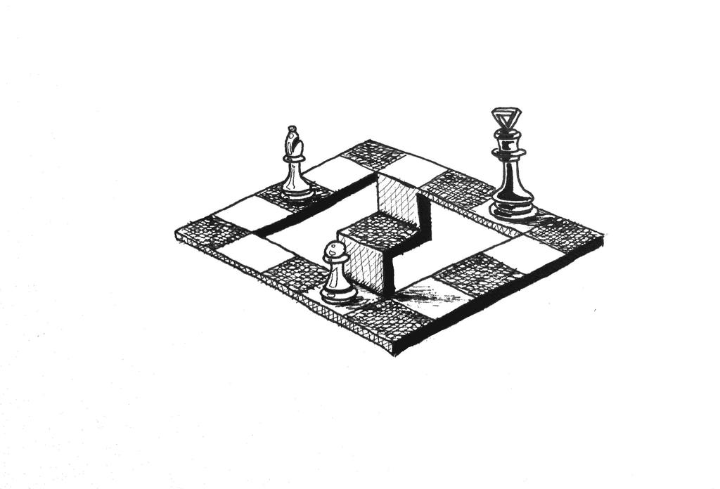Impossible chessboard by TehStupidBunny