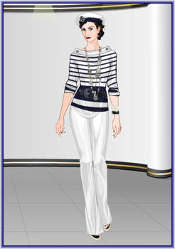 Dressed up: Coco Chanel