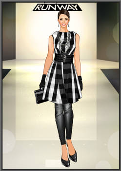 Dressed up: Project Runway