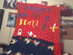 it beauty and the beast blanket by biancaroseg