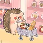 Hoshi grocery shopping