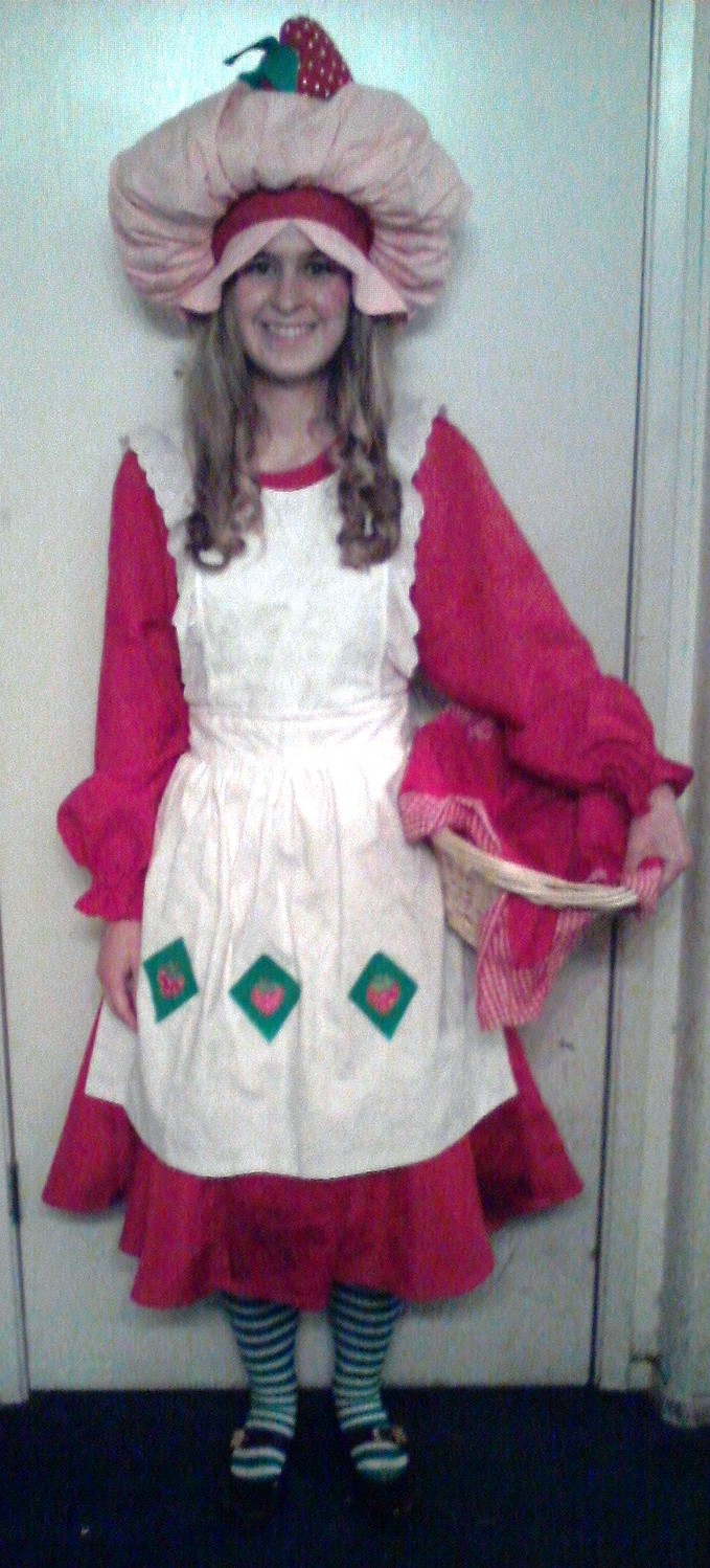 Strawberry Shortcake Costume by nimisha
