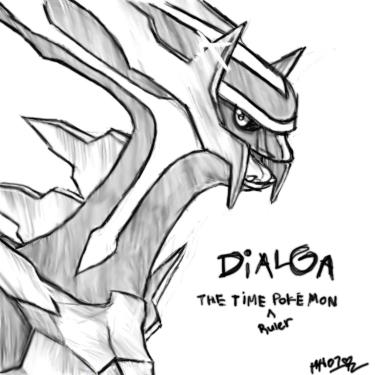 Dialga the Time Ruler Pokemon by cheruppi on DeviantArt