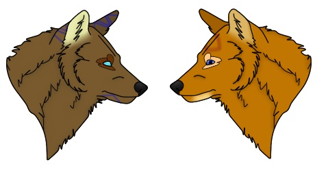 Ruuzas siblings by MagicalWolfpower