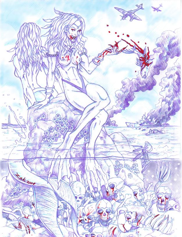 Mermaids by Z-A-K