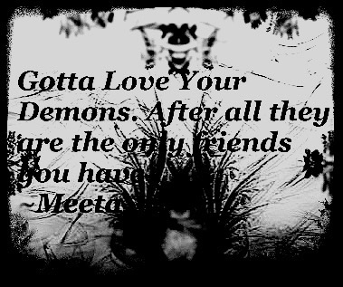 Dark Quote  by MeetaEvie