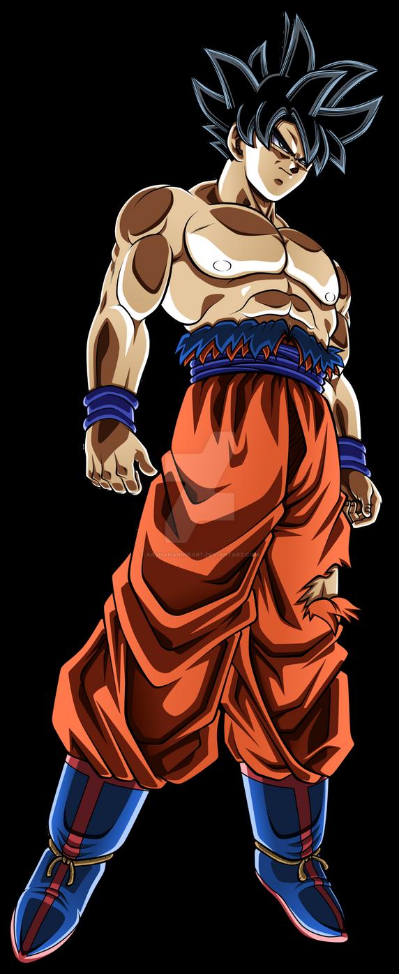 Goku Ultra Instinct By Aashananimeart On Deviantart