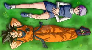 Goku and Bulma