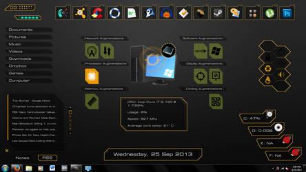 Deus Ex Augmentations skin - update