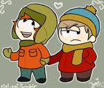 Kyle and Cartman