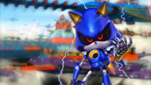 Metal Sonic and Eggmans Armada by RealSonicSpeed