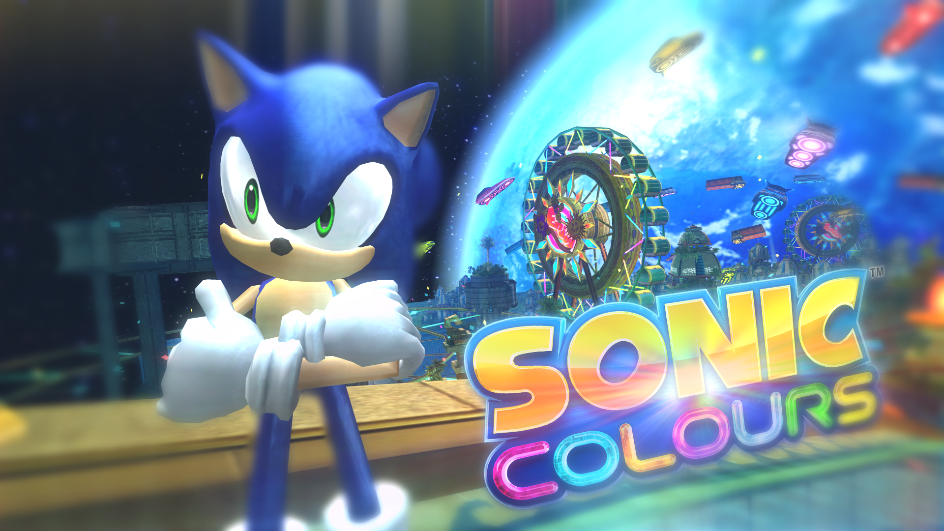 Sonic Colours Thumbnail By