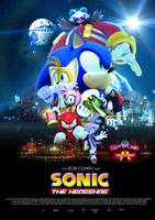 Sonic the Hedgehog Movie - Poster