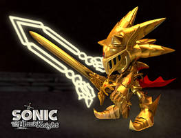 Excalibur Sonic - Sonic and the Black Knight BG by RealSonicSpeed