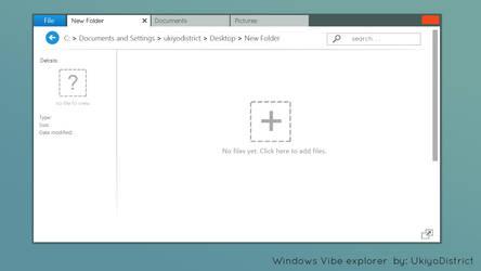 Windows Vibe Concept by ukiyodistrict