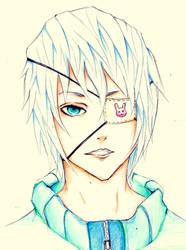 Frosty Eyes by ukiyodistrict