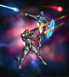 BAS week 53: Bionicle in SPACE by Hidronax