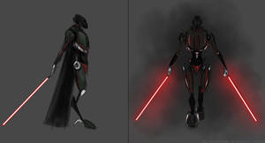 Darth Makuta (Star Wars) - concept by Hidronax