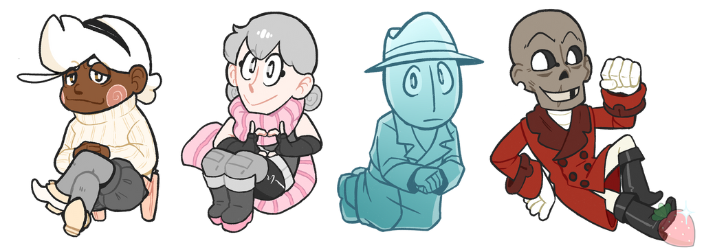 OC Charms by ShinyStrawberry