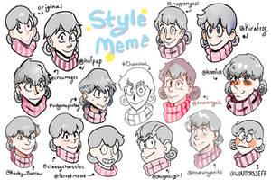 Twitter Art Style meme by ShinyStrawberry
