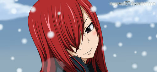 Erza Scarlet - FT Special Gray and Juvia by rogerwolf27