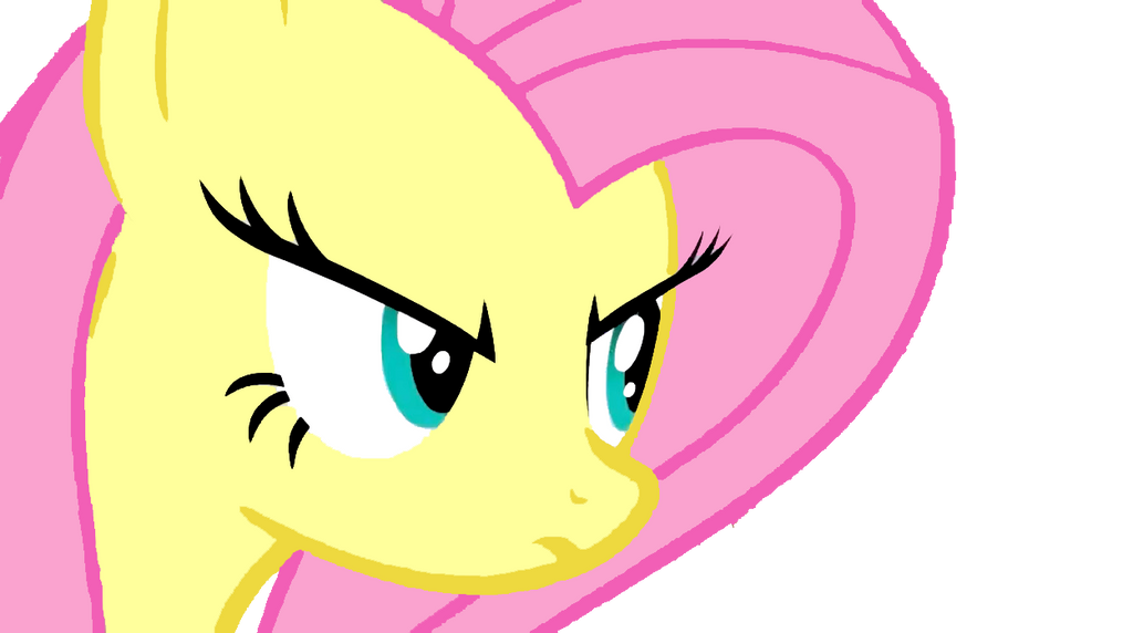 Fluttershy's Serious Look by FFGOfficial on DeviantArt