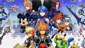 Kingdom Hearts 2.5 Wallpaper