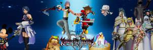 Kingdom Hearts II.8 Banner