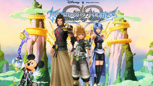 Kingdom Hearts: Birth By Sleep Wallpaper