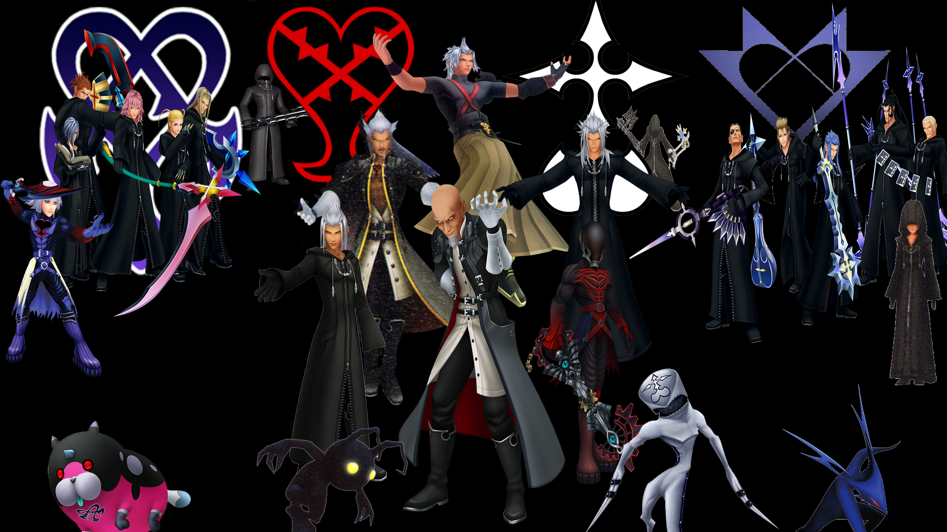 Kingdom Hearts Xehanort Saga Villains by The-Dark-Mamba-995 on DeviantArt