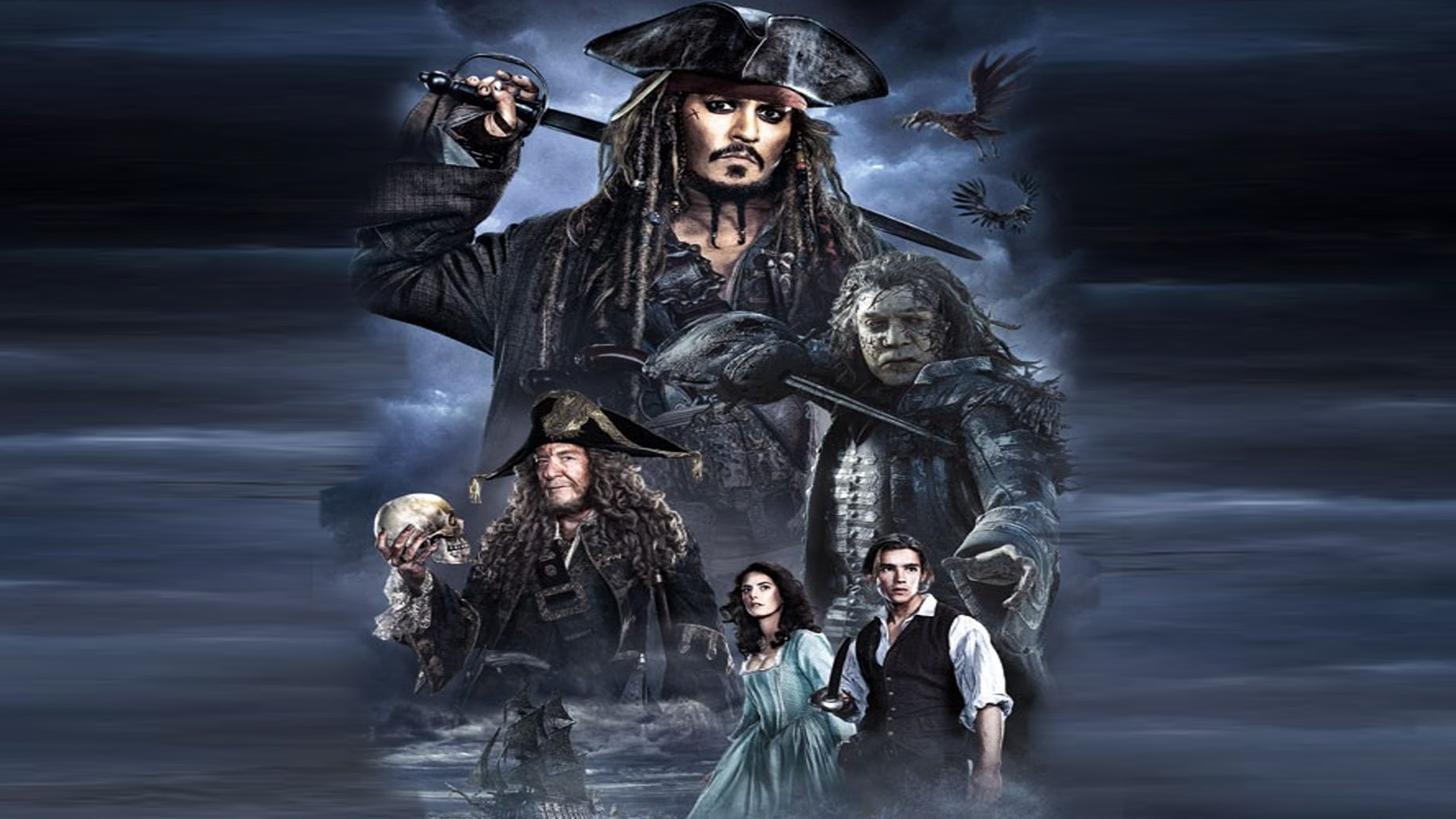 Pirates Of The Caribbean Dead Men Tell No Tales By The Dark Mamba