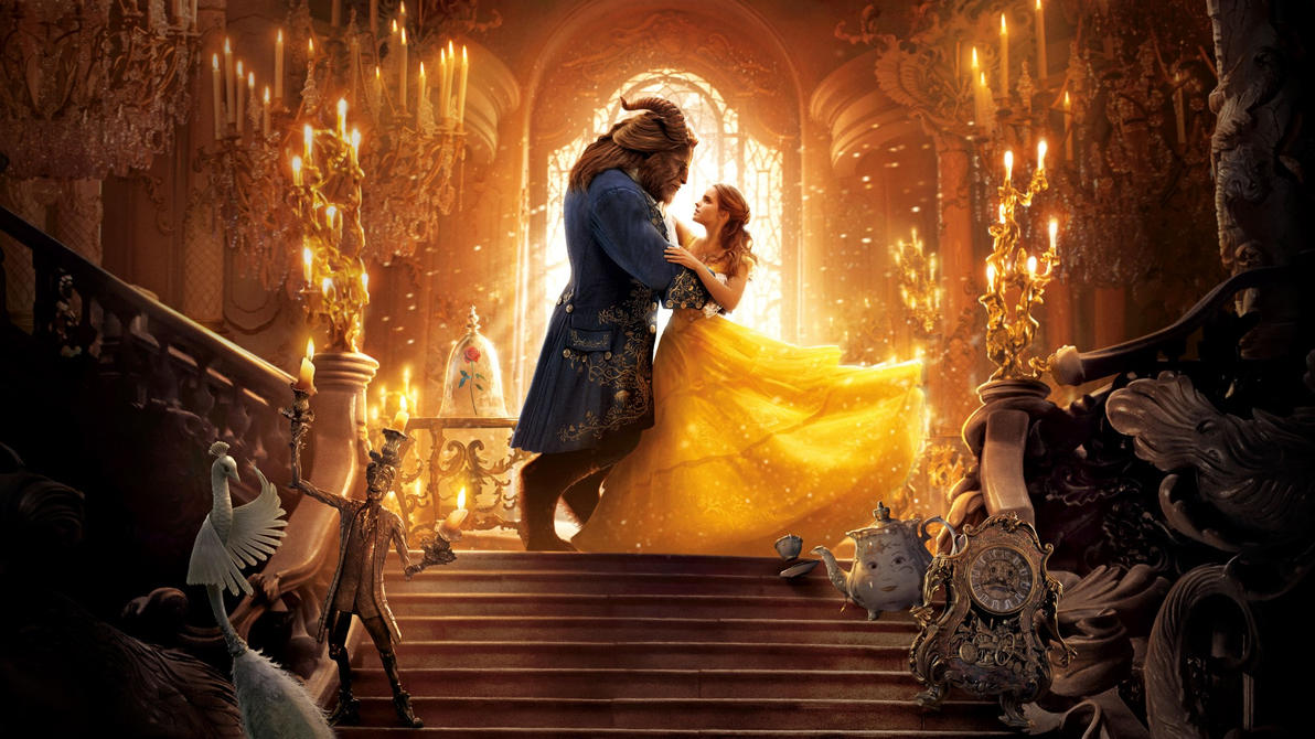 Beauty and the Beast (2017)  Wallpaper by The-Dark-Mamba-995