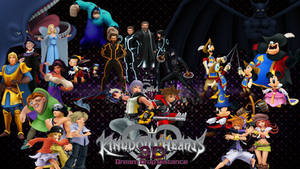 Kingdom Hearts: Dream Drop Distance Dream Worlds