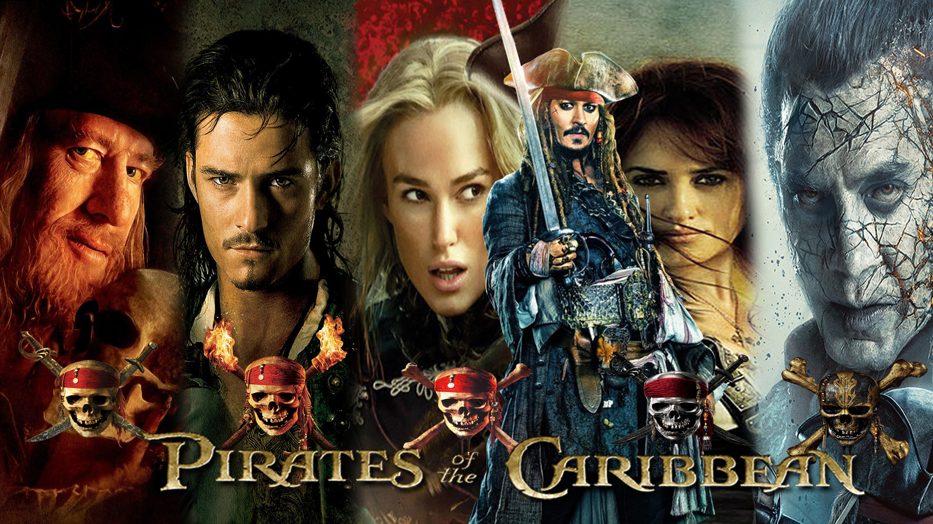 Pirates Of The Caribbean 1 5 Wallpaper By The Dark Mamba 995