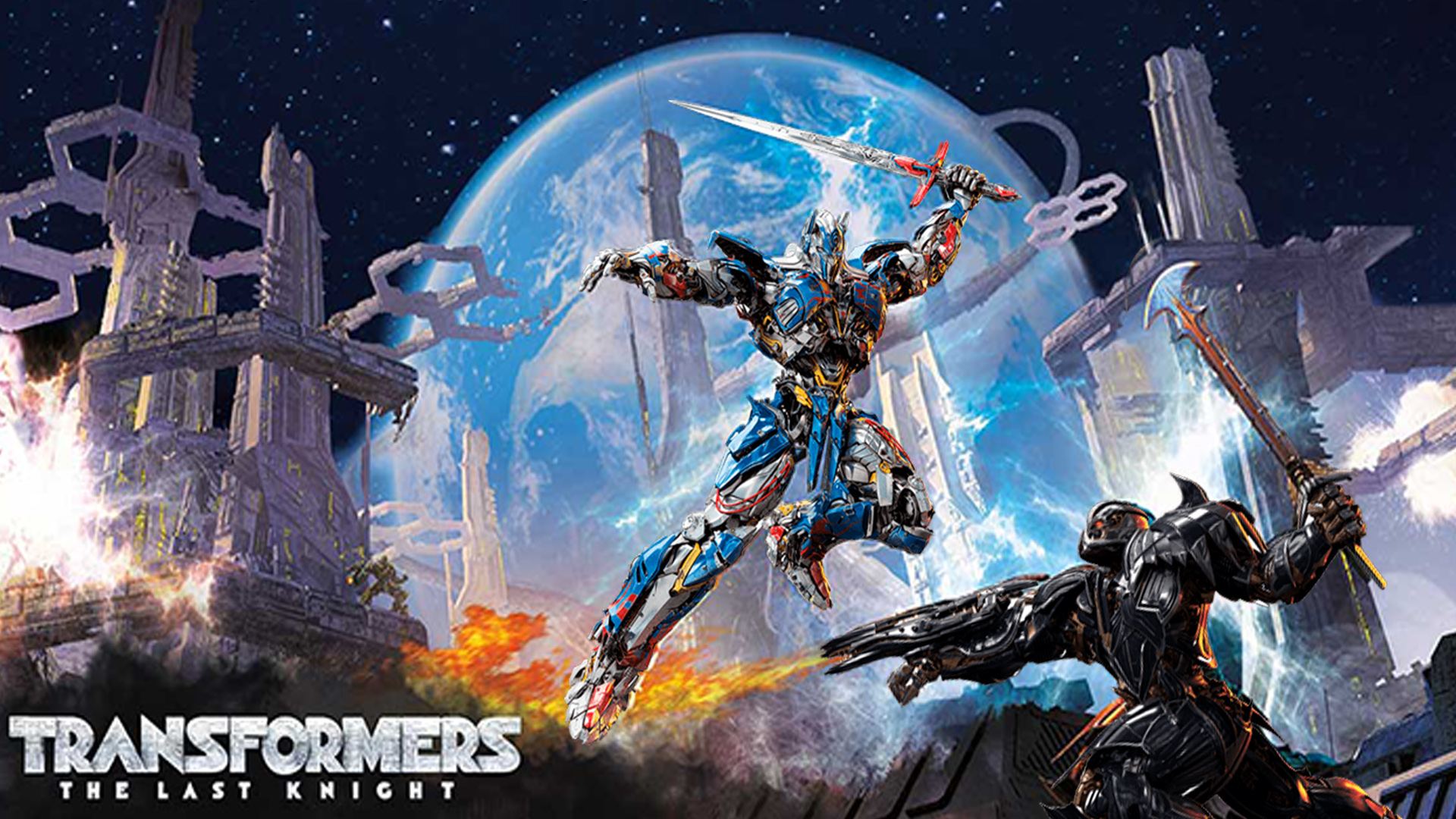 The Last Knight Optimus Vs Megatron Wallpaper By The Dark Mamba