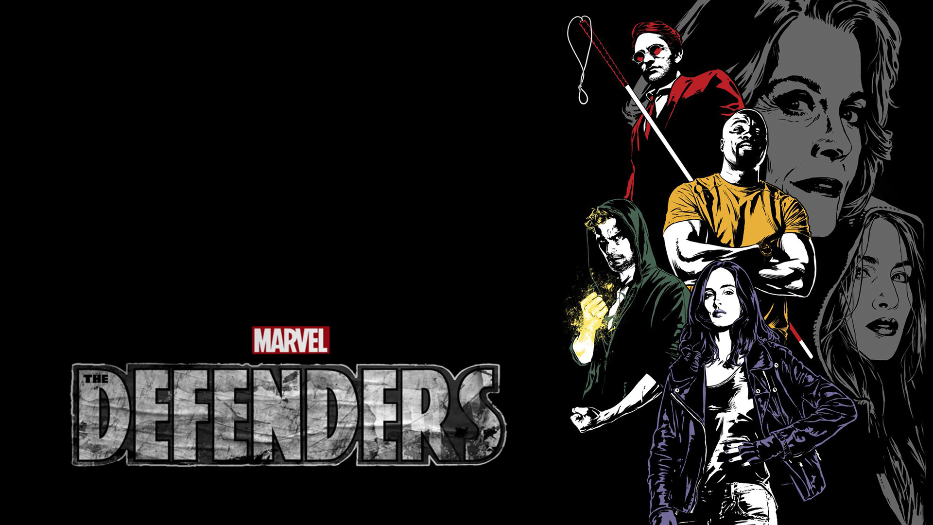 Marvel's The Defenders wallpaper by The-Dark-Mamba-995 on