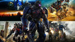 Transformers 1-5 Cinematic Universe Wallpaper