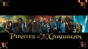 Pirates of the Caribbean 1-5 Legacy Wallpaper