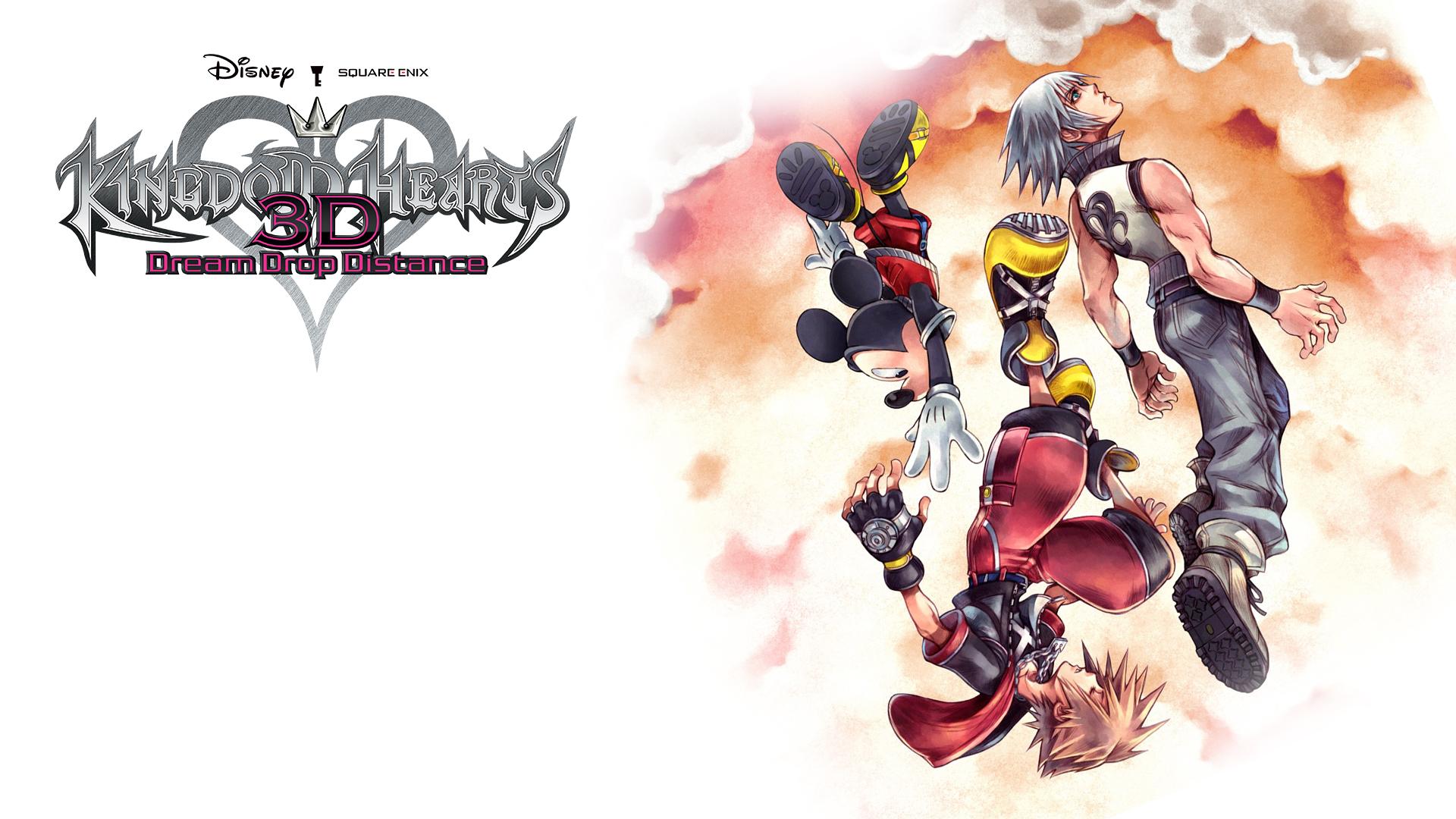 Kingdom Hearts Dream Drop Distance Wallpaper By The Dark Mamba