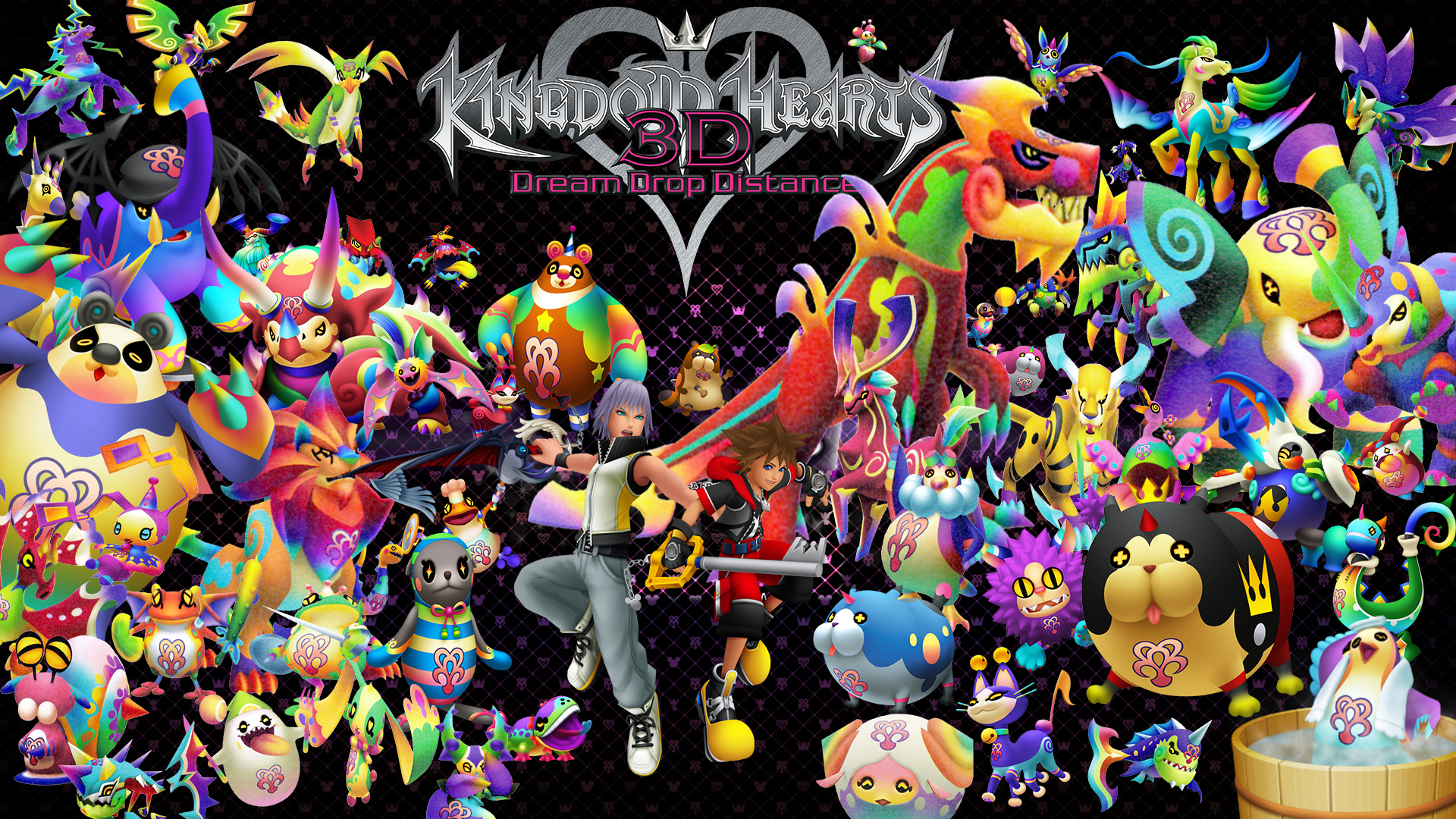 Kingdom Hearts Dream Drop Distance Dream Eaters By The Dark Mamba