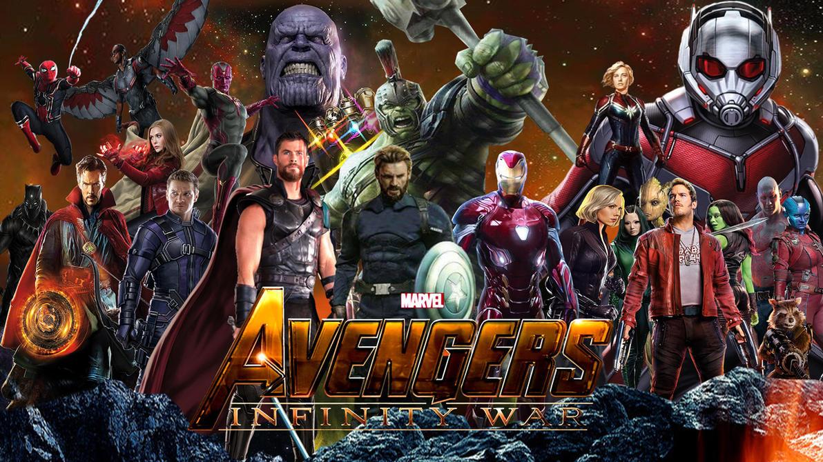 avengers: infinity war wallpaper by the-dark-mamba-995 on deviantart