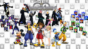 Kingdom Hearts: Chain of Memories Wallpaper