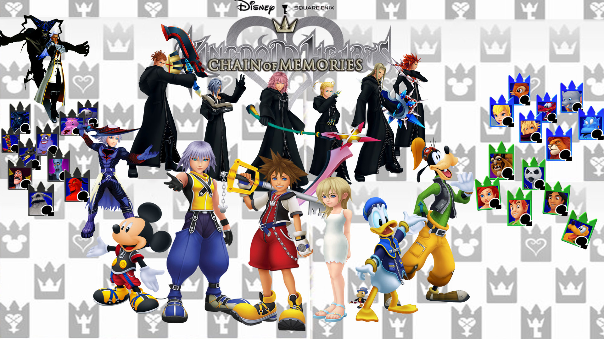 Kingdom Hearts Chain Of Memories Wallpaper By The Dark Mamba 995