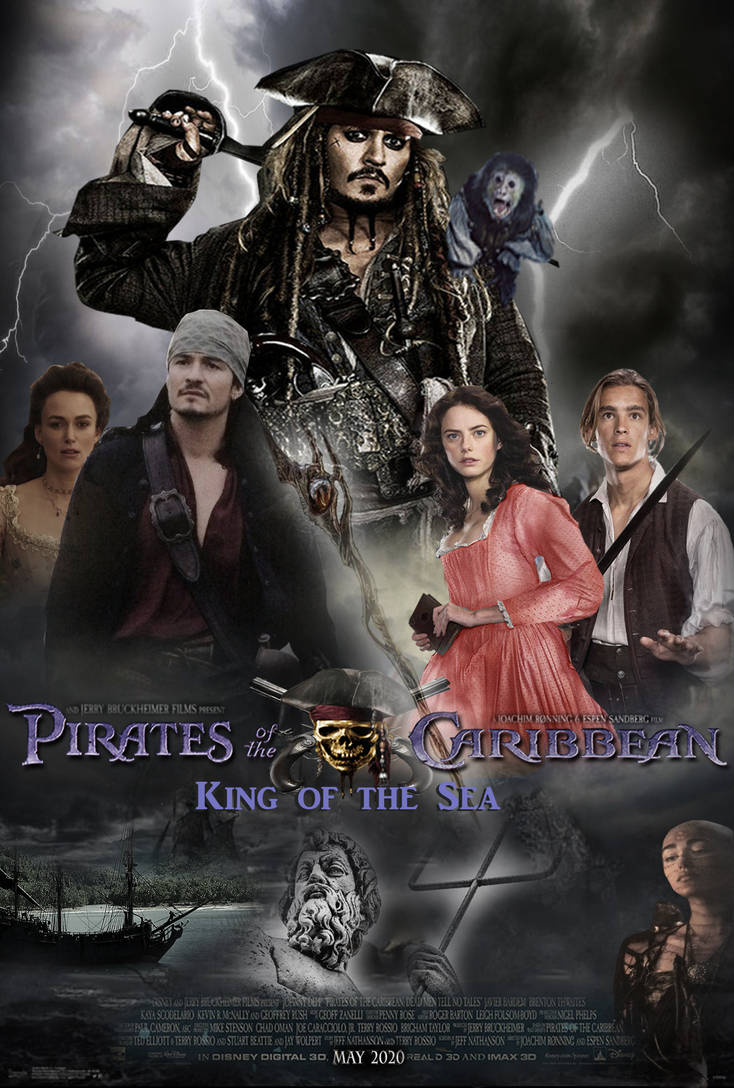 Pirates of the Caribbean 6 Poster concept by The-Dark-Mamba-995 on