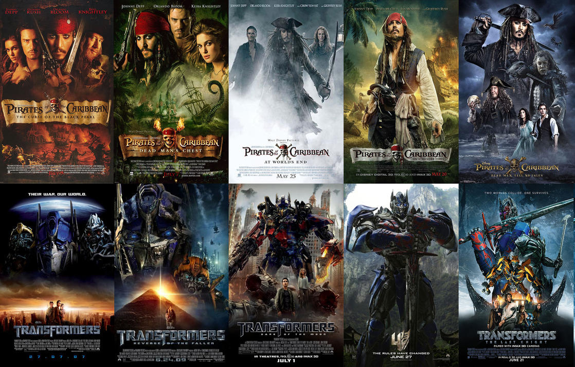 transformers and pirates 1-5 poster duality | tfw2005 - the 2005 boards